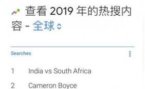 谷歌发布2019年度热搜排行榜 iPhone 11超《权力的游戏》位列第五