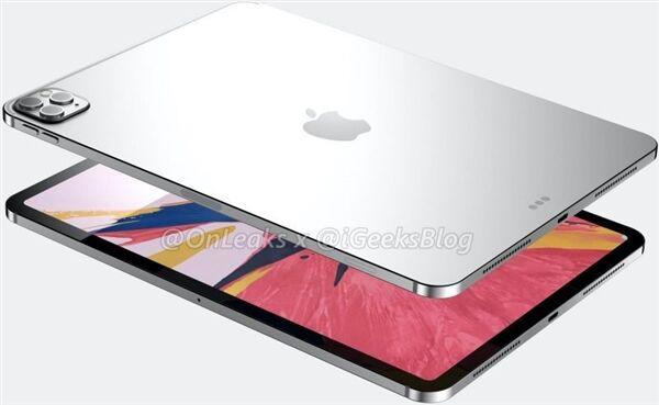 外媒称苹果即将发布新一代iPad Pro 将搭载ToF 3D传感器