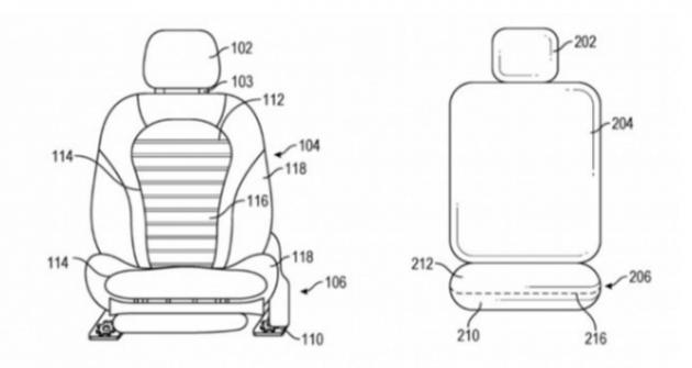 苹果汽车座椅新专利:在车辆急转弯自适应改变造型 以保护乘客的安全