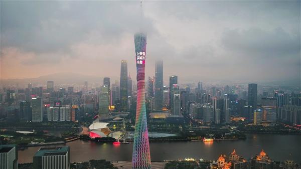 天猫618即将开启 地标广州塔也赶来上新