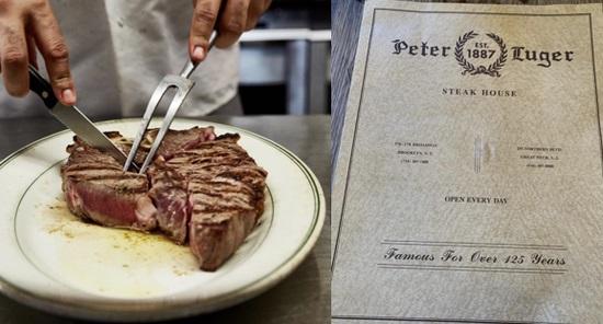 纽约第一牛排馆百年来首次开始提供外卖和店取服务