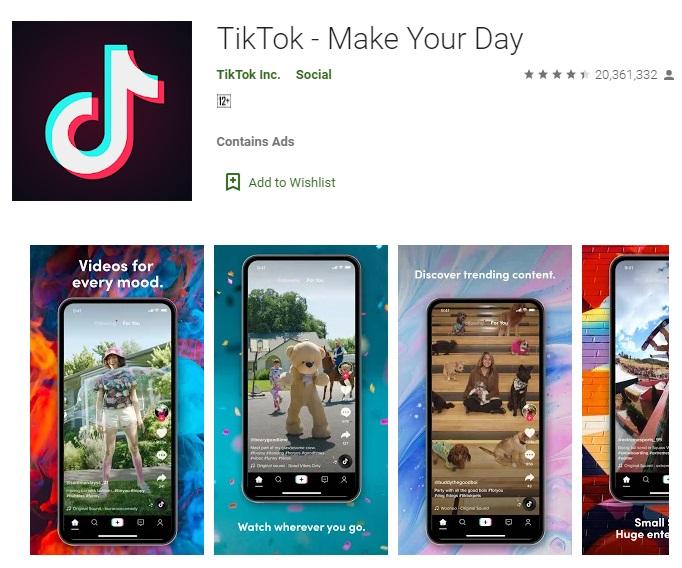大量印度用户对TikTok给了1星级评价 谷歌删除超过800万条负面评论