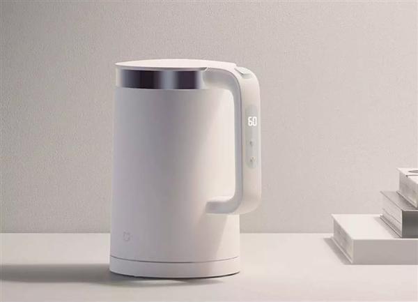 全新升级的米家恒温电水壶Pro正式发布:支持5档保温 售价249元