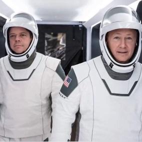 NASA公布了由SpaceX设计和制作的全新宇航服 拥有集成式阀门